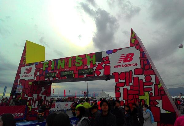 湘南国際マラソン2015(フルマラソン)完走レポート