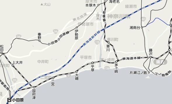 湘南国際マラソン会場の最寄り駅は大磯